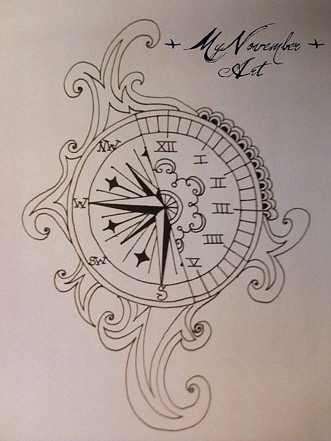 3 Latest Clock Tattoo Design Ideas
