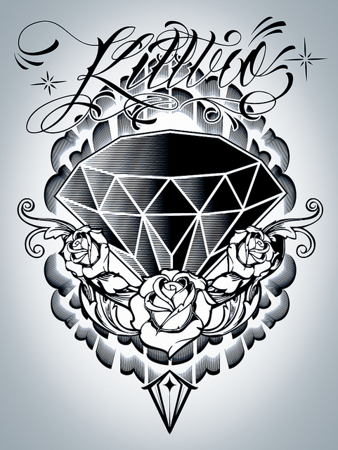 8 Nice Diamond Tattoo Design Ideas
