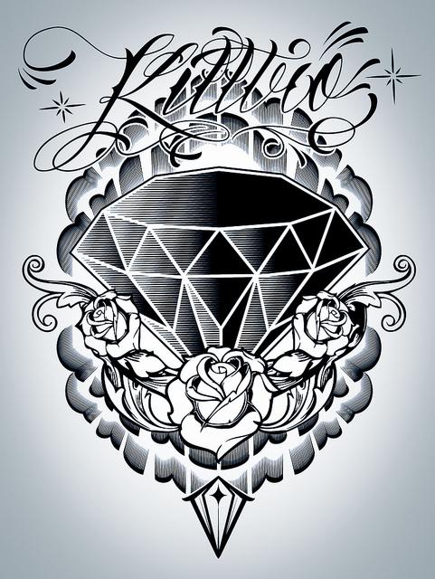 diamond tattoo designs ideas - photo #31