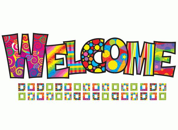 Welcome Colorful Sign Picture