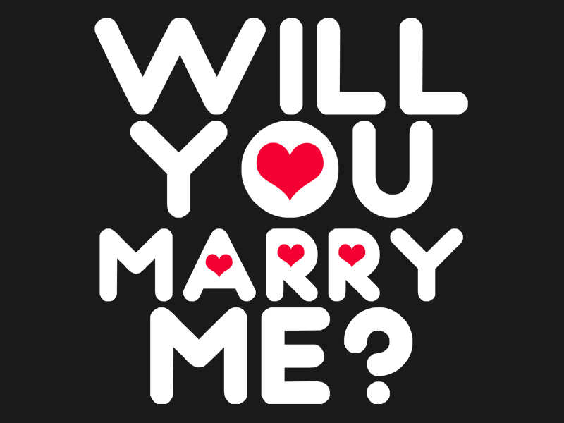 15 very best marry me pictures