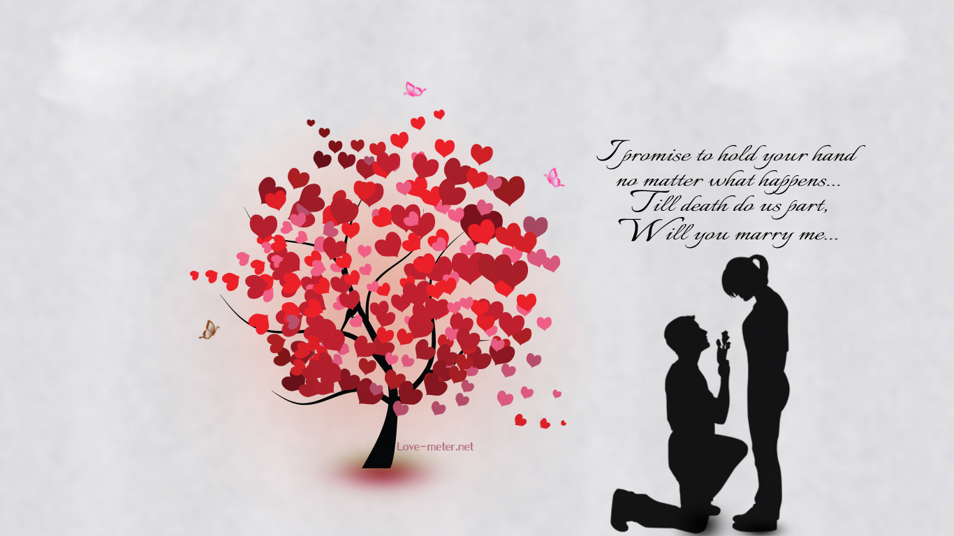 Wallpaper All My Love Is For You : 15 Very Best Marry Me Pictures