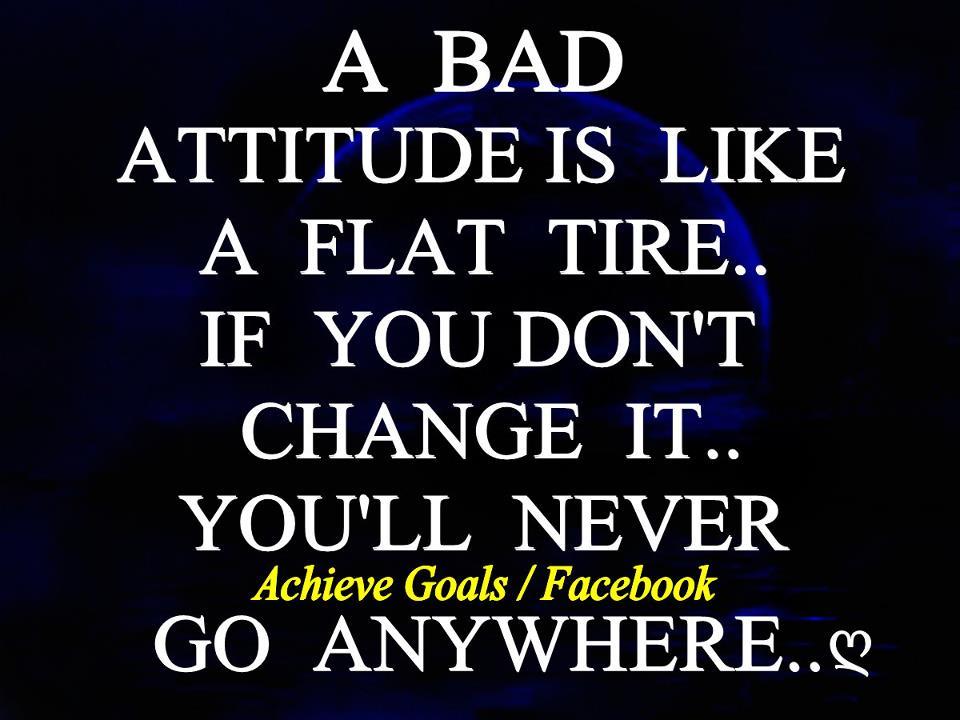 Attitude Is My Habit I Cant Change It