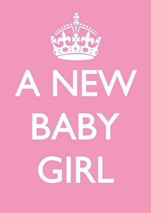 A New Baby Girl Wishes Picture