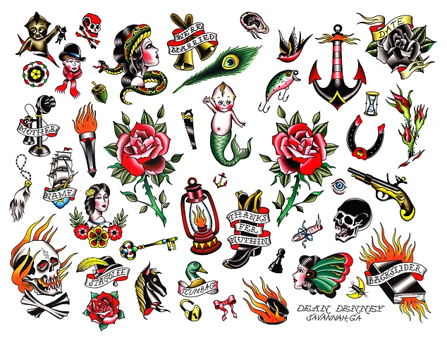 11 Traditional Tattoo Designs And Ideas