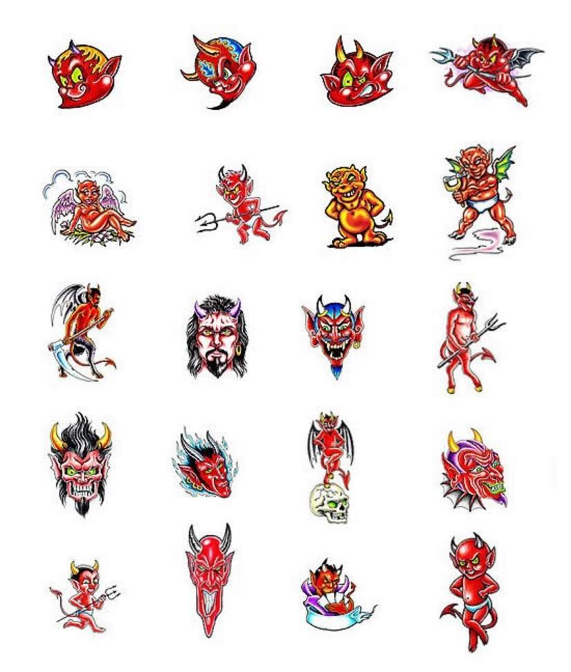 14 Devil Tattoo Designs And Ideas