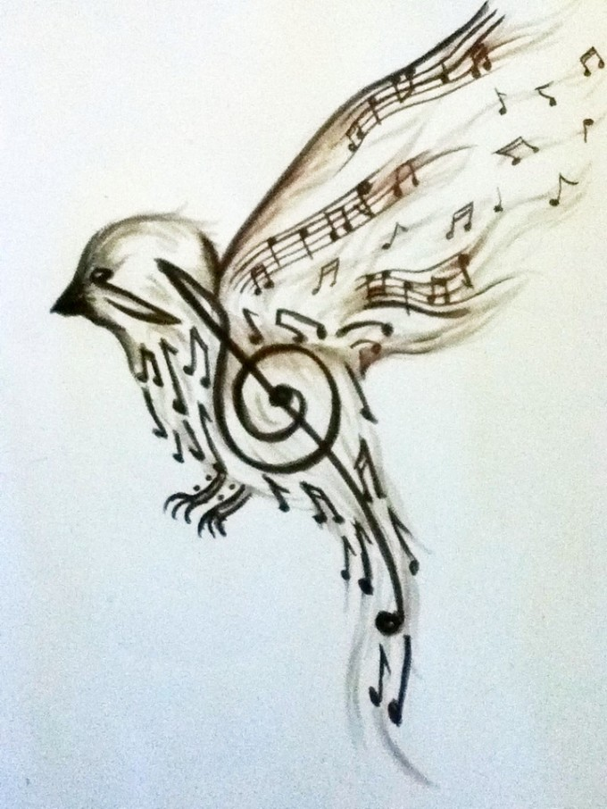 3 Music Tattoo Designs Samples And Ideas