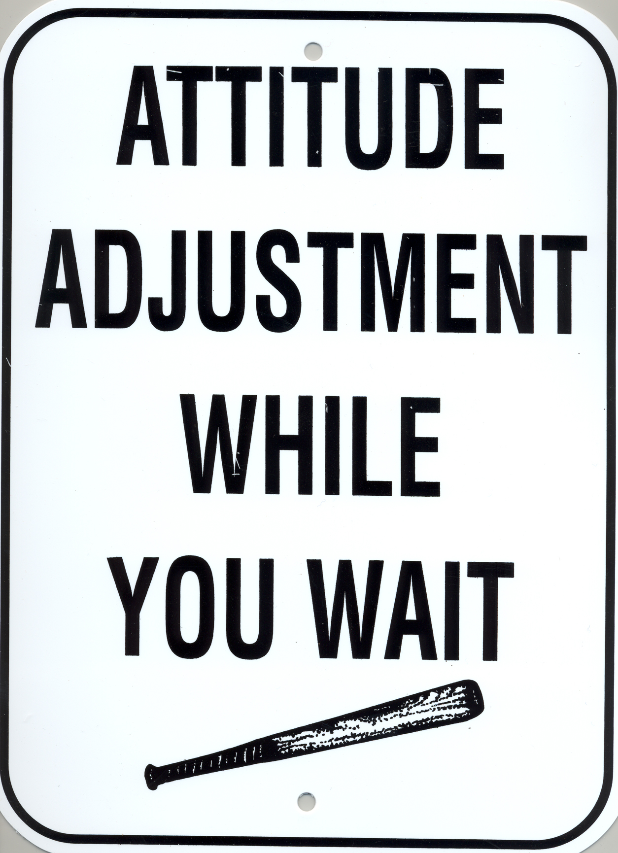 Attitude Adjustment While You Wait