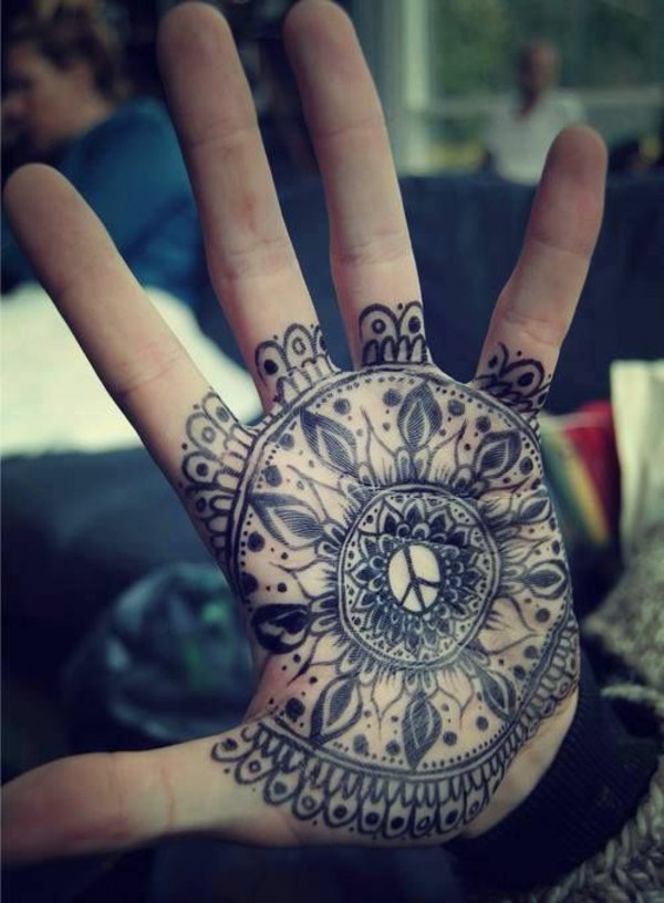 20 mandala tattoo images pictures and ideas. Black Bedroom Furniture Sets. Home Design Ideas