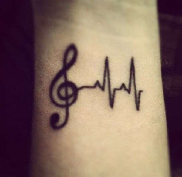 Tattoo Designs Related To Music: 15 Cool Music Tattoo Images, Pictures And Ideas
