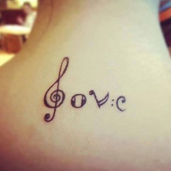 15 Cool Music Tattoo Images, Pictures And Ideas