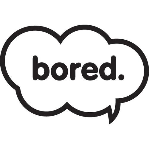 Bored Speech Bubble