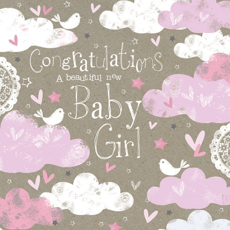 Congratulations for baby girl: Poems for newborn baby girl