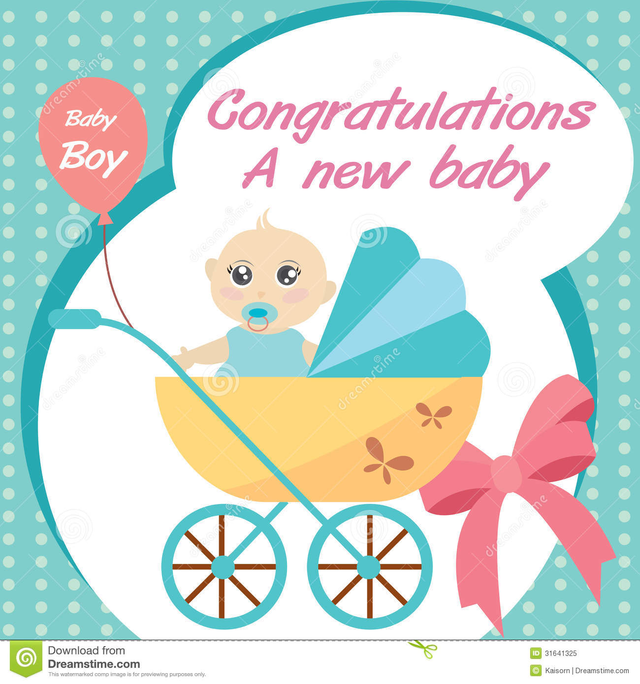 congratulations a new baby boy