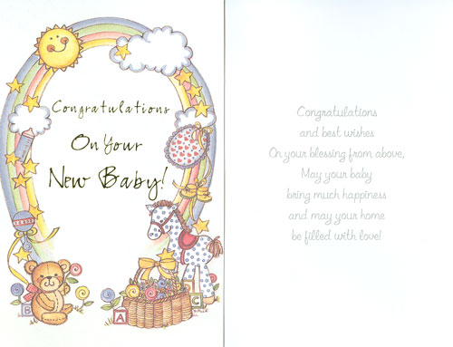 New baby congratulations card dawaydabrowa 25 wonderful new born baby wishes pictures m4hsunfo Image collections