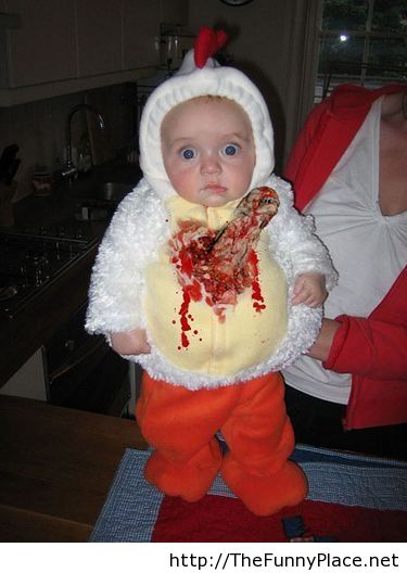 Funny Kids Halloween Costumes.Funny Kid In Halloween Scary Costume