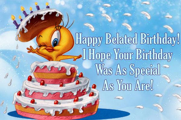 42 best belated birthday greeting card pictures happy belated birthday greeting card m4hsunfo Image collections