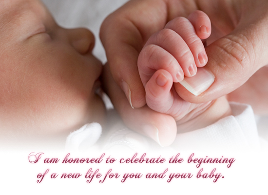 25 very best new baby born wishes pictures and images i am honored to celebrate the beginning of a new life for you and your baby m4hsunfo