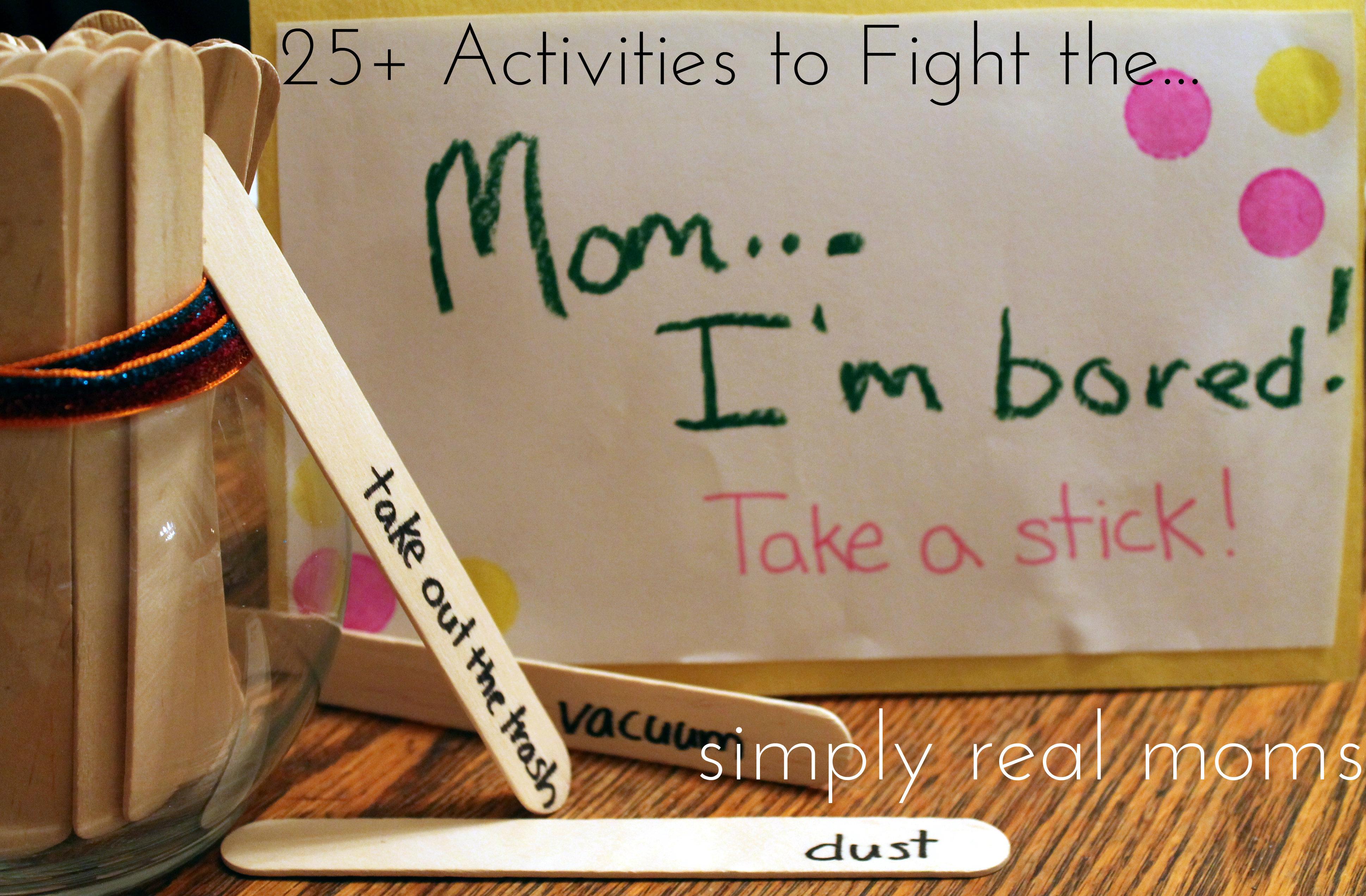 I Am Sooo Bored!!! - Circle of Moms
