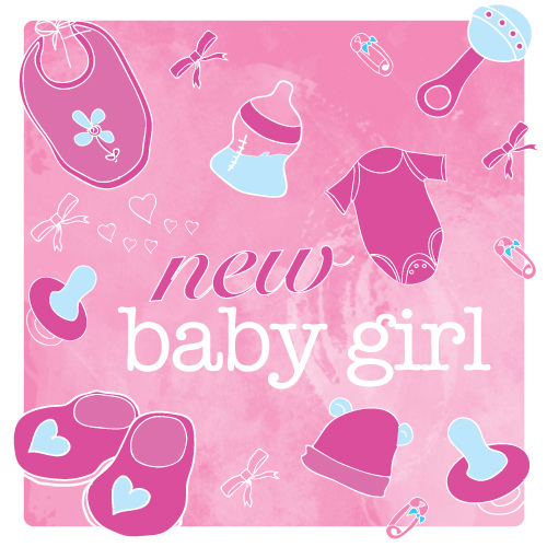 25 very best new baby born wishes pictures and images new baby girl greeting card m4hsunfo