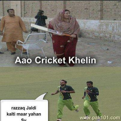 Very funny pictures of cricket