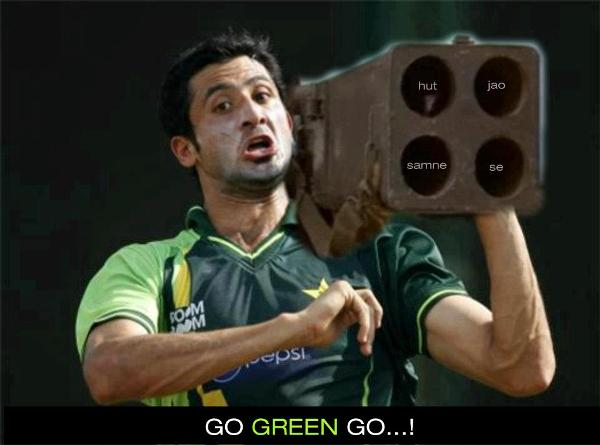 Pakistani-Cricket-Player-Attacking-With-