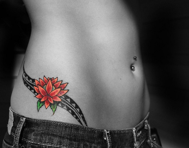16 Hip Tattoo Images, Pictures And Ideas