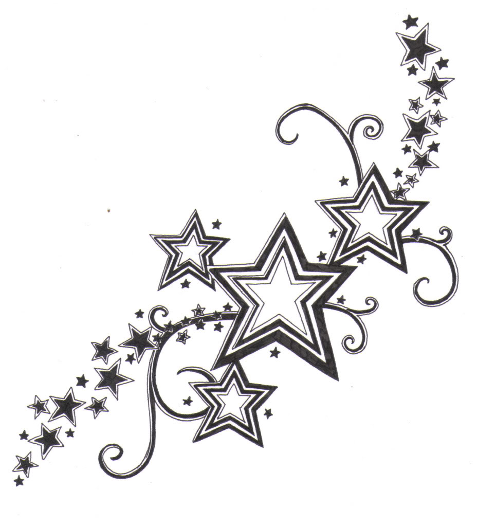 10 Star Tattoo Design Samples And Ideas