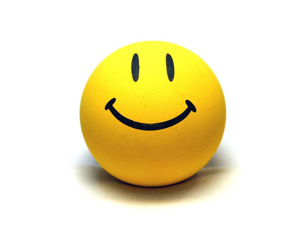 Smile Yellow Ball