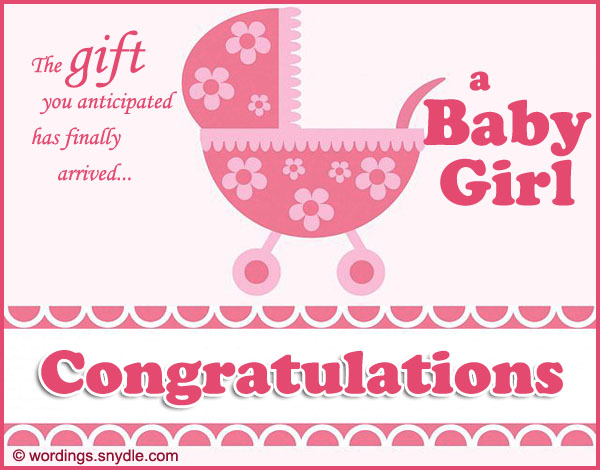 the gift you anticipated has finally arrived a baby girl