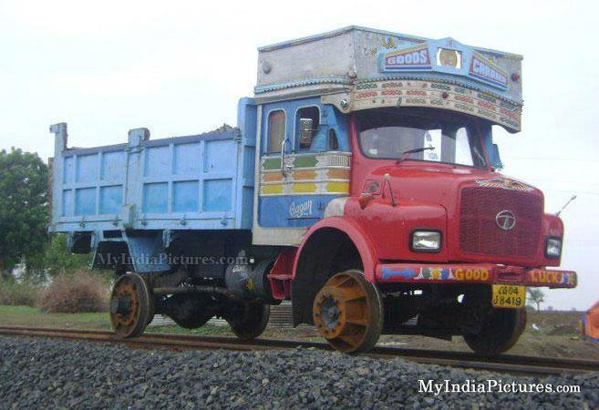 Image result for rail truck india