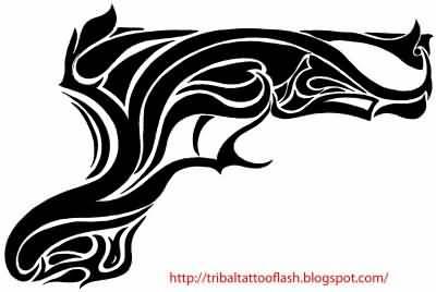 14 Latest Gun Tattoo Designs And Ideas - photo#24