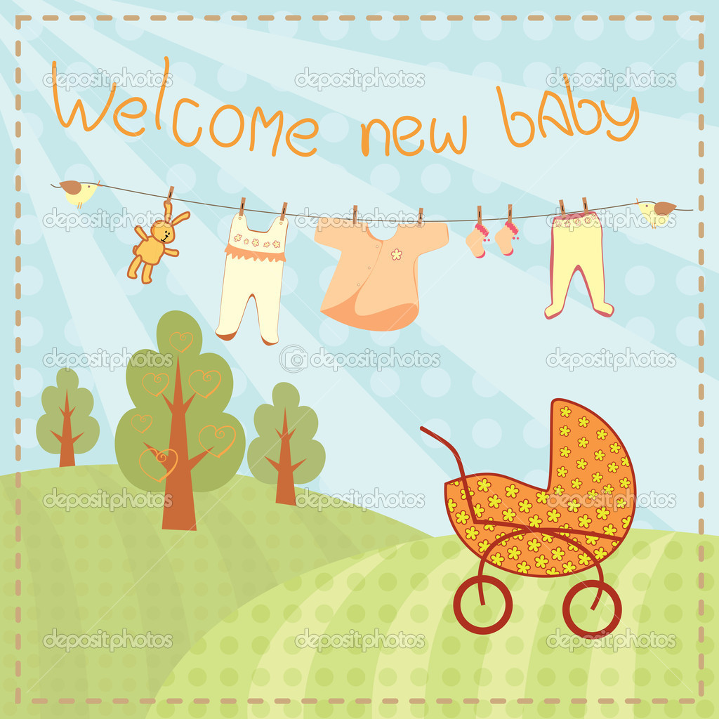 Welcoming baby card roho4senses welcoming baby card m4hsunfo