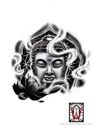 15 Most Famous Gautama Buddha Tattoo Designs