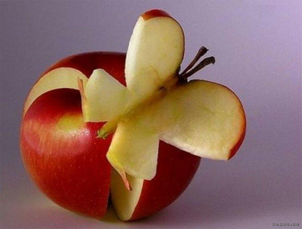 Amazing Funny Apple Art Picture
