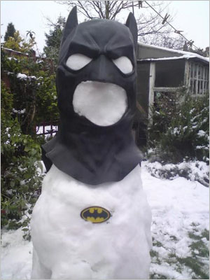 10 Very Funny Snowman Pictures