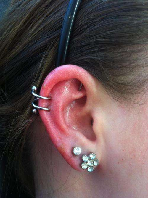18 Awesome Spiral Piercing Picture And Images