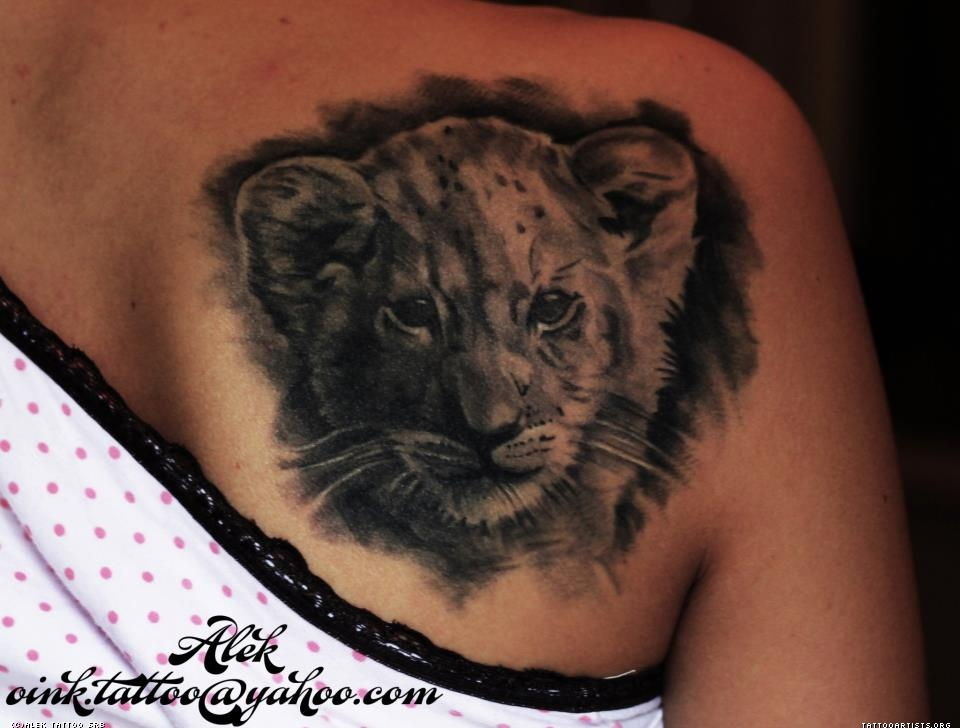 18 awesome cub tattoo images pictures and design ideas for Lion and cub tattoo