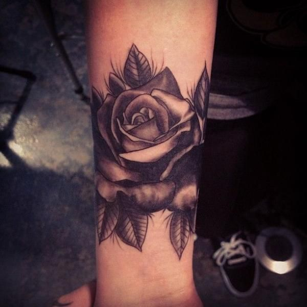 79d800fd5213d 30 Black Rose Tattoo Designs, Images And Picture Ideas