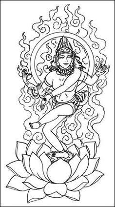 6 Awesome Natraj Tattoo Designs, Samples And Ideas