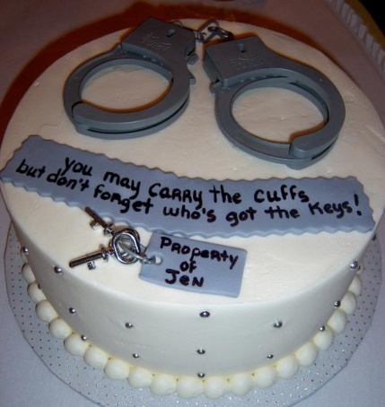 Funny Handcliff Cake Picture