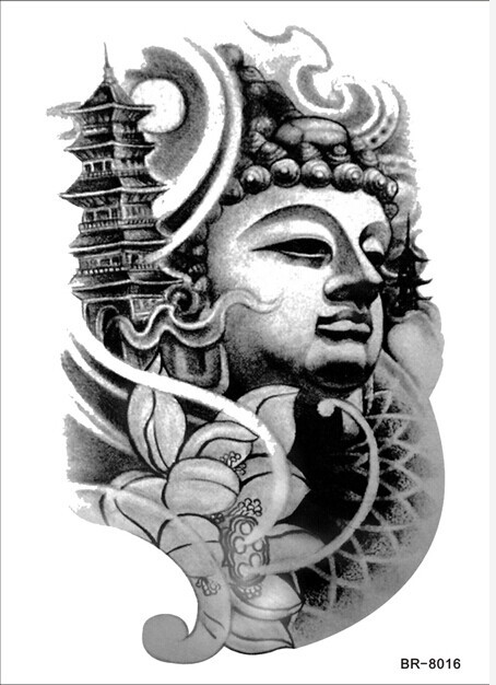 15 most famous gautama buddha tattoo designs. Black Bedroom Furniture Sets. Home Design Ideas