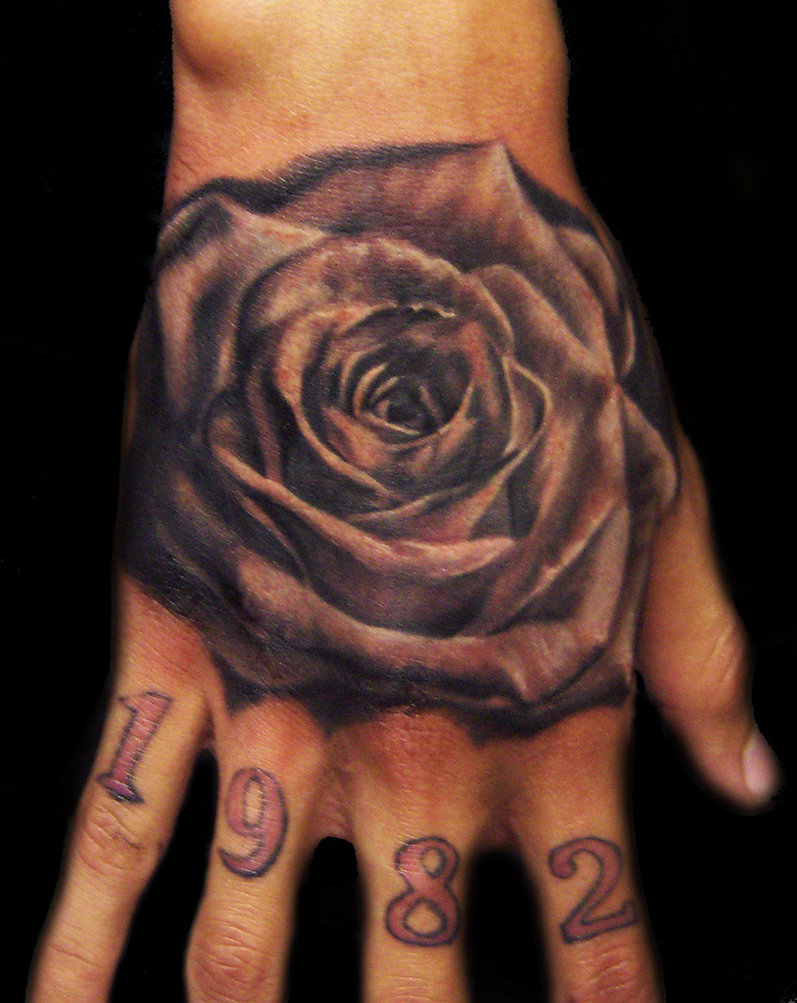 Clock forearm black rose sleeve tattoo - Clock Forearm Black Rose Sleeve Tattoo 55