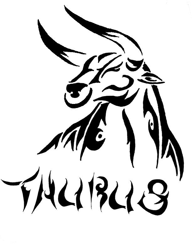 13 zodiac taurus tattoo designs and ideas. Black Bedroom Furniture Sets. Home Design Ideas