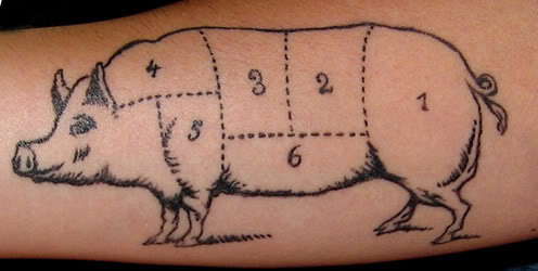 11 unique pig tattoo images, pictures and ideas