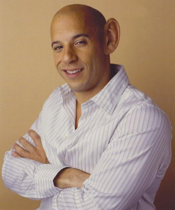 Vin Diesel With One Ear Funny Picture