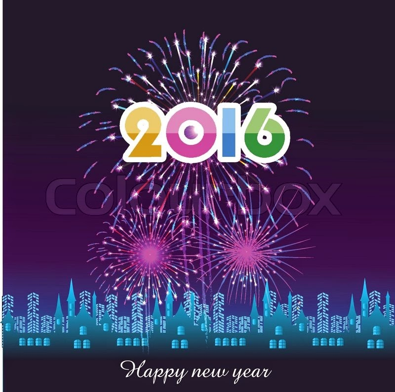 2016 Happy New Year Ecard