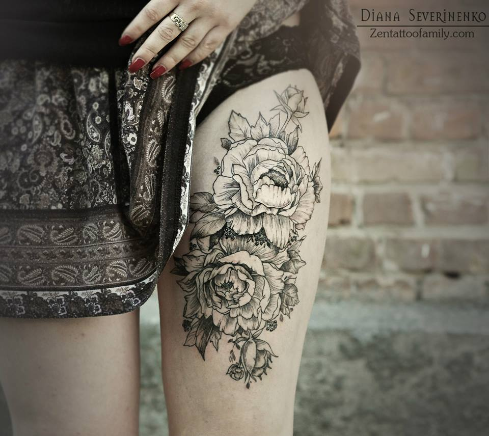 22 Awesome White Rose Tattoo Images Pictures And Design Ideas