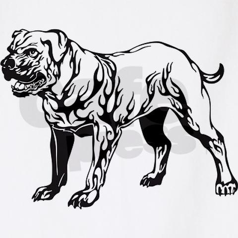 7 pit bull dog tattoo designs and stencils. Black Bedroom Furniture Sets. Home Design Ideas