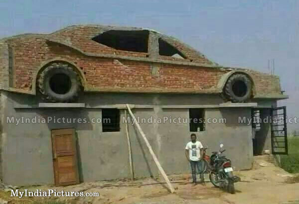 Funny car designs home india image for House design in punjab